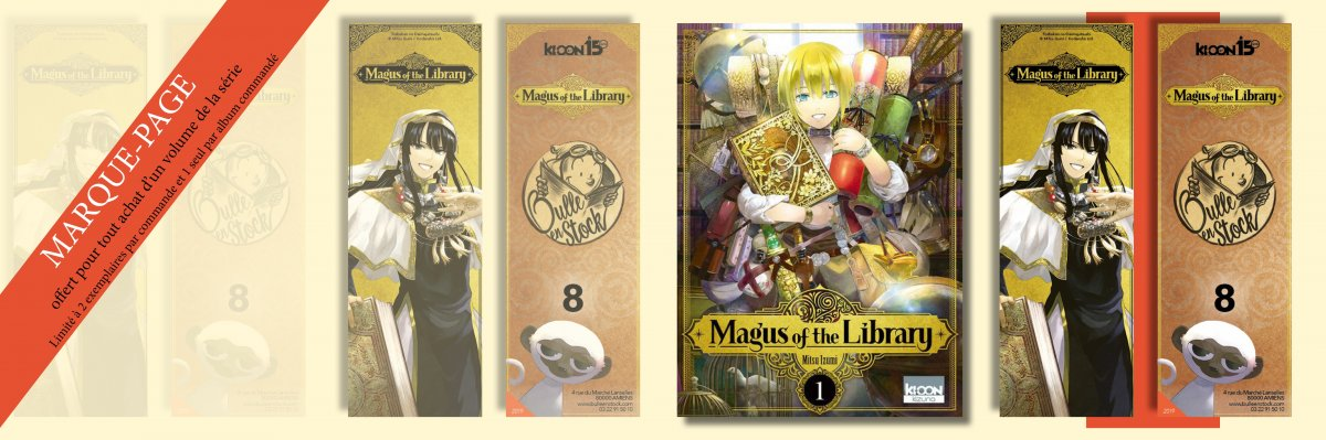Maugus Of The Library Maque Page Manga Luxe Exclusif Limite
